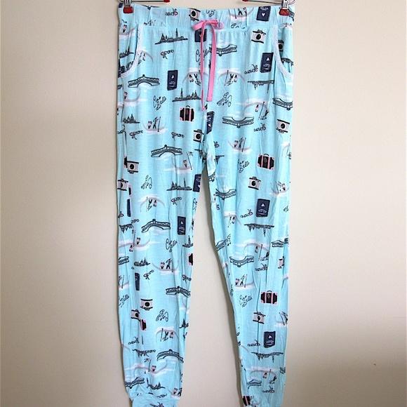 Kensie Other - Kensie Lounge   Sleep Joggers Pajama Pants Large 4ccf57ee0